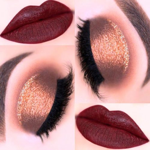 Amazing Burgundy Makeup Ideas picture 3