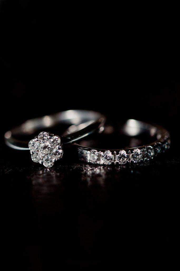 She Would Like This Engagement Ring Set #wedding #weddingrings