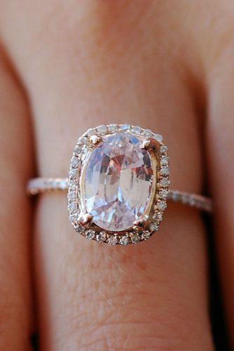 Rose Sapphire Ring #rosegoldring #sapphire #sapphirering