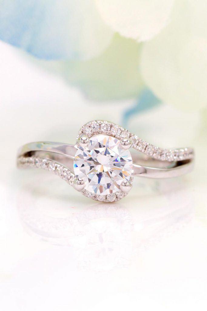 Split Shank Engagement Ring #splitring #beautifulring