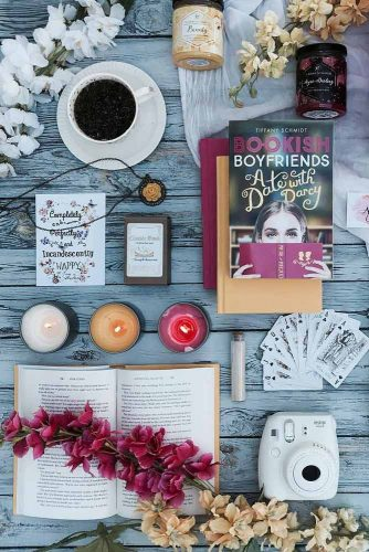 Book Inspiration Flat Lay #book