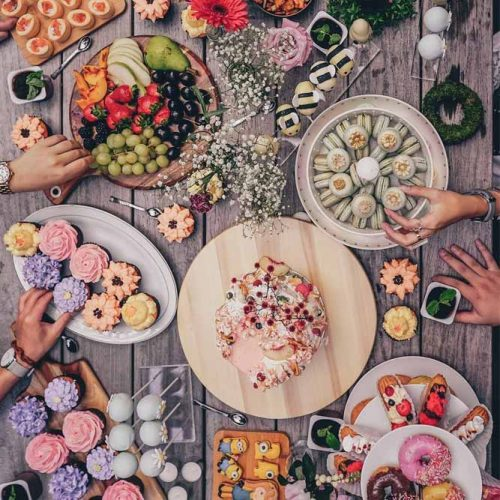 Beautiful Food Flat Lay Photography #products