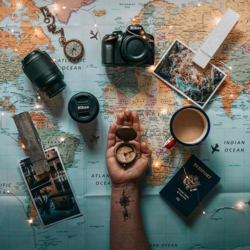 Travel Flat Lay Inspiration #tips