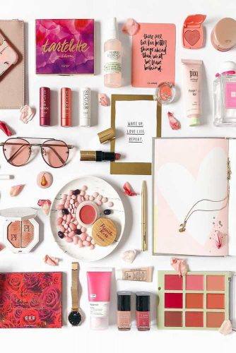 Beauty Flat Lay Inspiration #tips