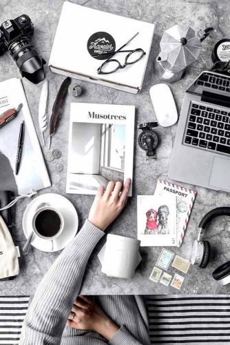Workspace Flat Lay Inspiration #workspace