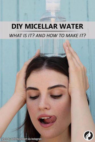 DIY Micellar Water Recipe #homemaderecipe