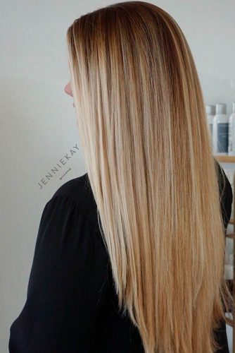 Long Straight Hair Styles Ideas #straighthairstyles