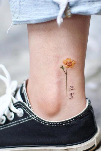 Small Flower Tattoo #flowertattoo #flower