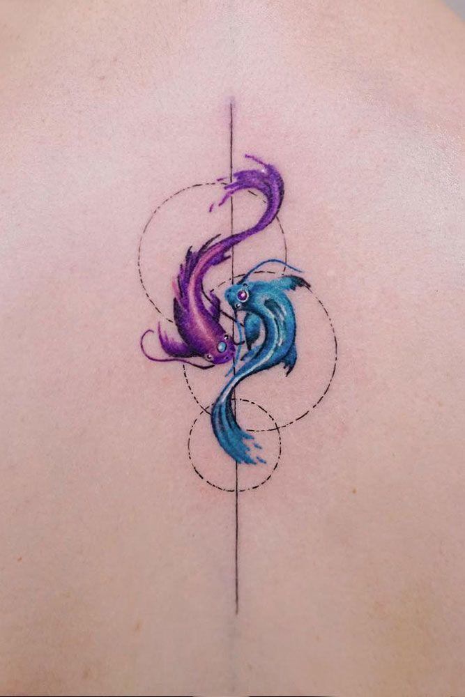 Koi Fish Watercolor Tattoo #koifish #koifishtattoo