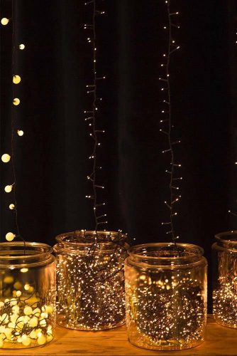 Fairy Lights Ideas For Your Home Décor #fairy