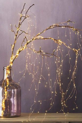 Amazing Light Tree Idea for Your Home #indoordecor