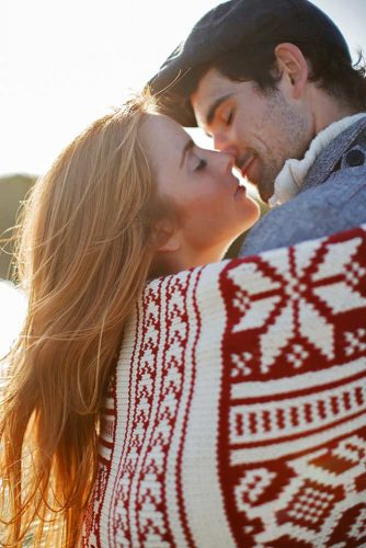 Playful Idea #engagementphoto #love #kiss