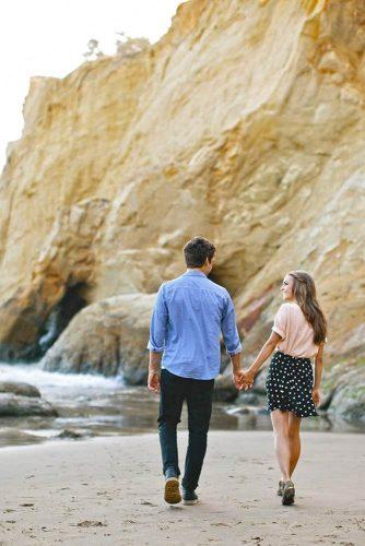 A Romantic Photo Shoot #engagementphoto #couple #beach