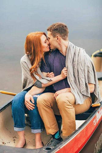 Kiss Me Now #engagementphoto #love #kiss #couple