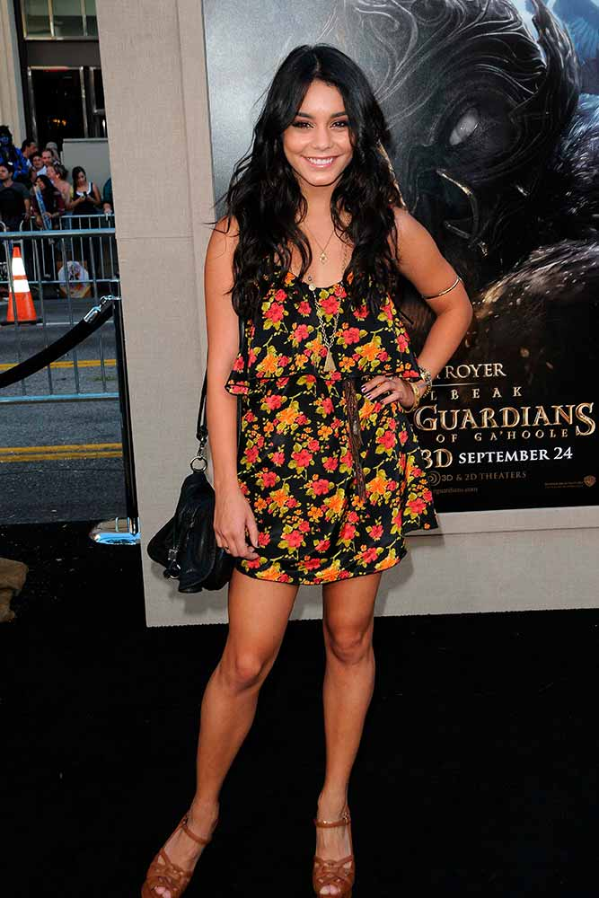 Ruffled Mini Dress #summerdress #vanessahudgens
