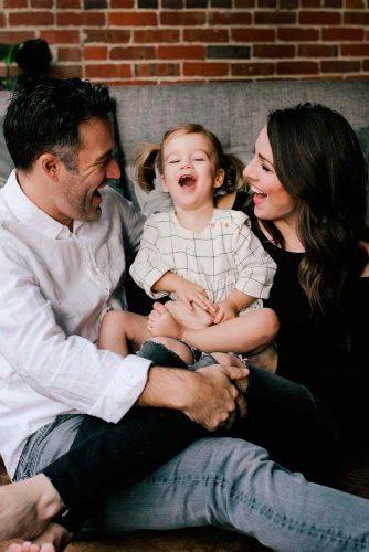 Cute Photos On The Floor #familyportrait