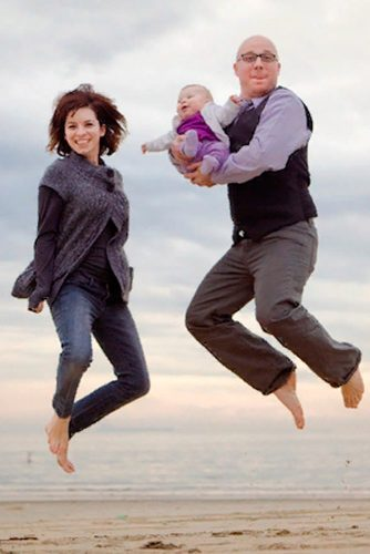 Jumping Up #funnyfamilyphotos #beachphotography