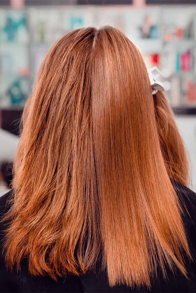 Do You Really Need To Wait 3 Days To Wash Hair After Keratin? #beforeafter #redhair