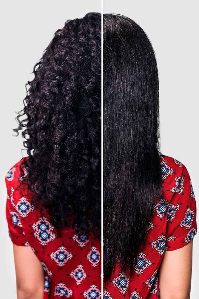 How Often Should I Wash My Hair After Keratin Treatment? #curlyhair #straighthair