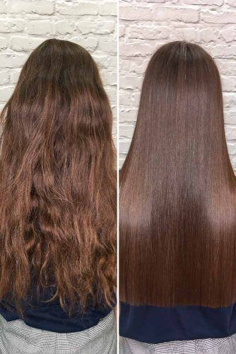 How Much Does Keratin Treatment Cost? #brownhair #longhair #beforeafter
