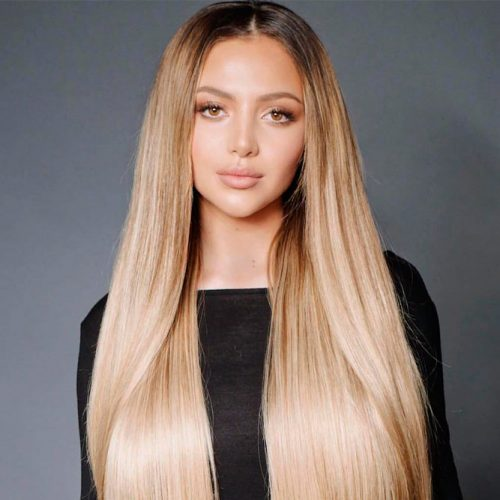 Do It Yourself How To Do The Keratin Treatment At Home #blondehair #longhair