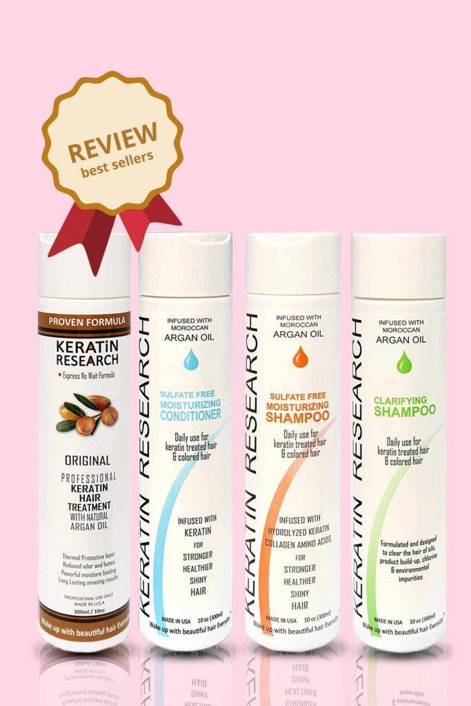 Keratin Research Hair Treatment Set