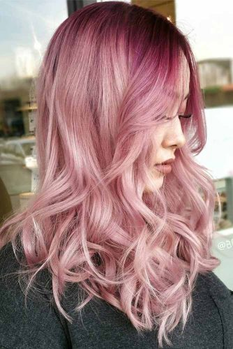 Pink Ombre Hairstyle #ombrehair