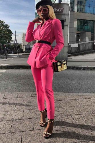 Should I Wear All Pink Clothes #pinksuit