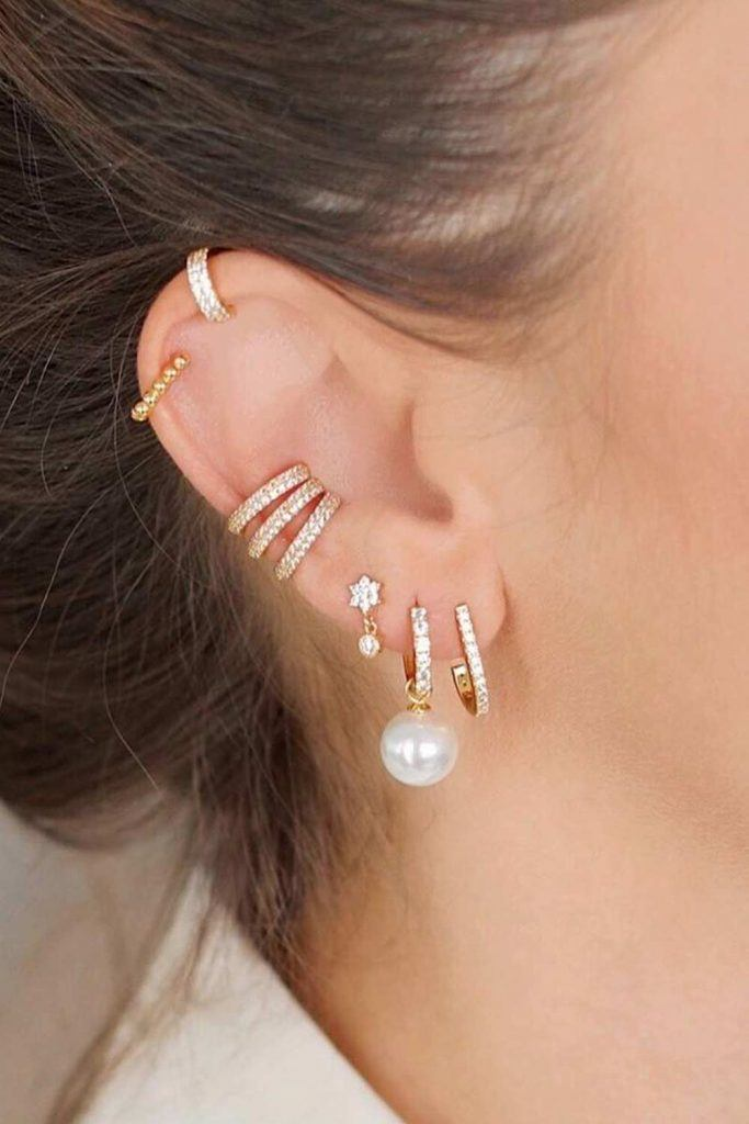 How Much Does It Cost To Get Your Ears Pierced? #stylishlook #pearlsjewerly