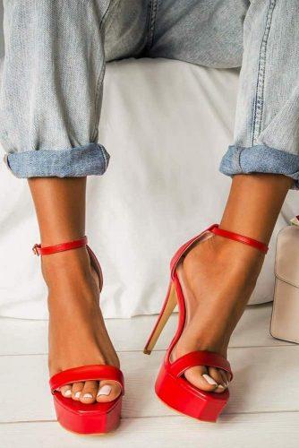 Sexy Platform Heels For Every Day #platform #platformheels