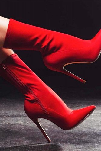 Classy Red Heels For Everyday
