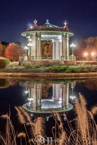 Romantic Walk At Forest Park #park #night