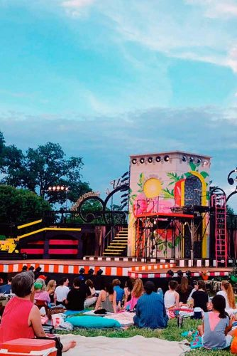Plunge Into A Fairy Tale Shakespeare Festival St. Louis #theatre