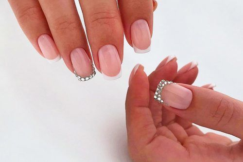 Beautiful Ideas For French Nails Fresh Look To A Classical Nail Design