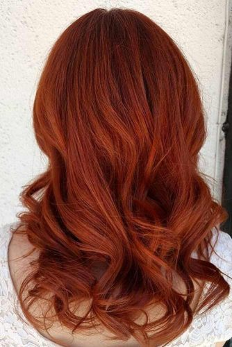 Deep Amber Shade For Hair Color #deepamber #haircolor