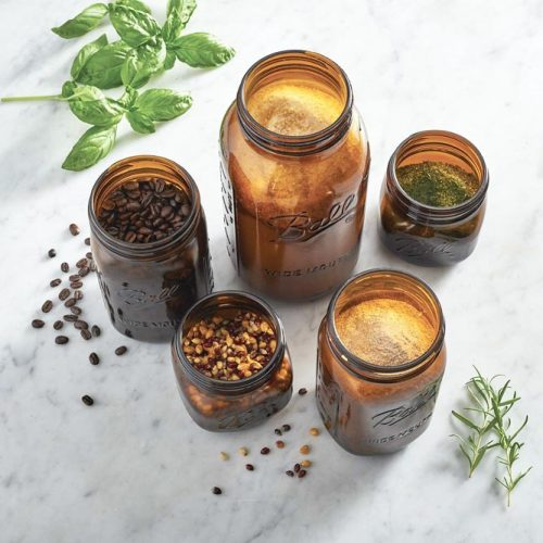 Amber Colored Jars Designs #jardesigns #homedecor