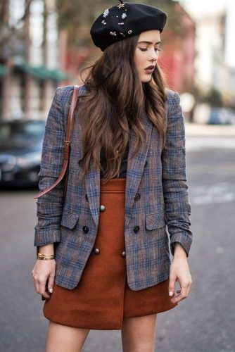 Amber Shade For Stylish Outfit #outfitidea #amberskirt