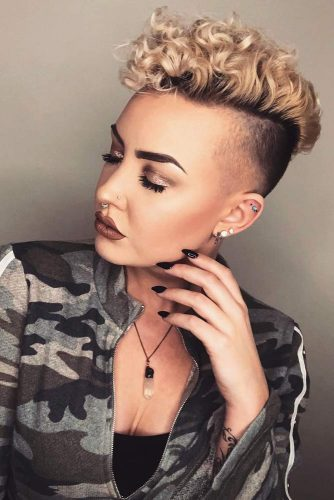 24 Cool And Daring Faux Hawk Hairstyles For Women