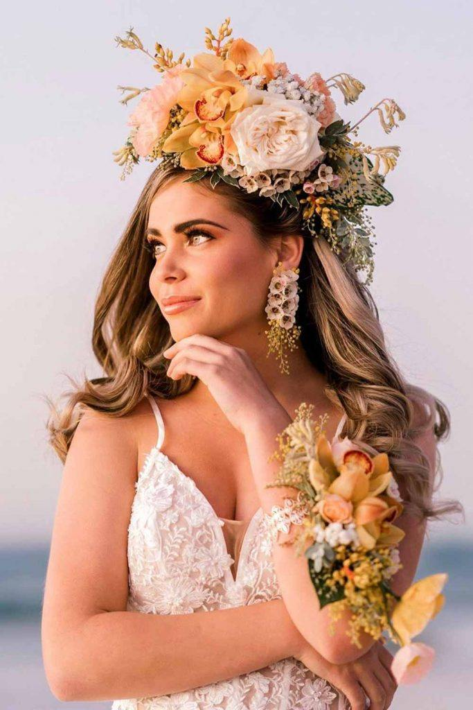 Wedding Flower Crown For Brides