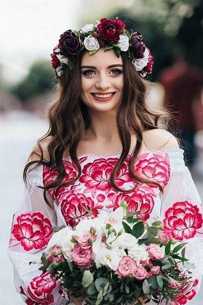 Flower Crown Design For Bridesmaid