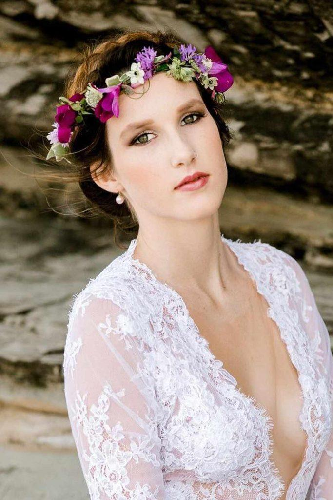Lovely Flower Crown For Bridesmaids