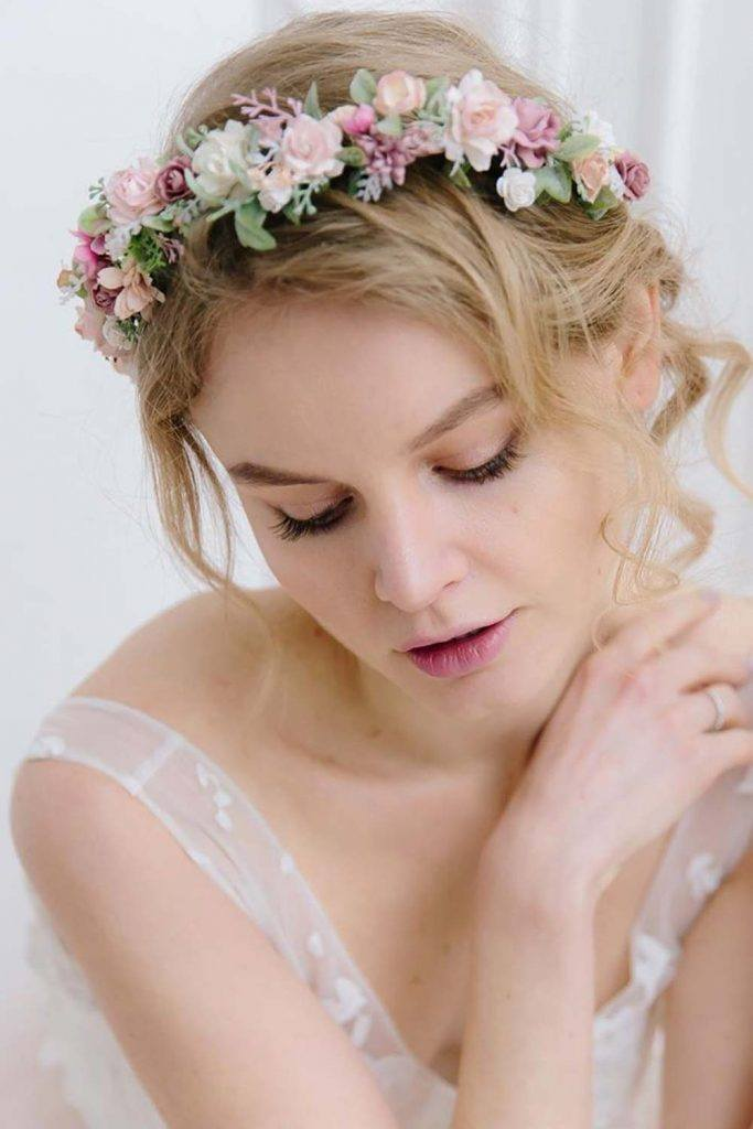 Simple Fake Flower Crown For Any Occasion