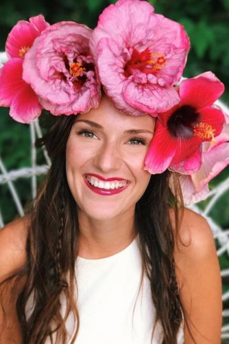 Hibiscus Flower Crowns Designs #hibiscus