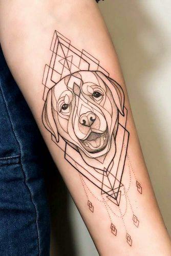 Best Human's Friend #armtattoo #dogtattoo #pettattoo