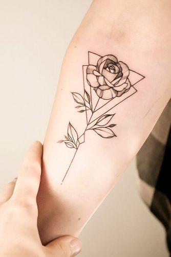 Beauty Is In Simplicity  #rosetattoo #flowertattoo