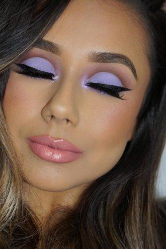 Matte Lavender Eyeshadow For Stunning Look #matteshadow