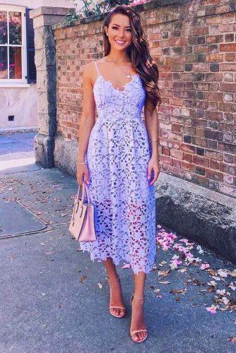Pastel Lavander Dress Design #dressdesign
