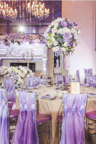 Wedding Décor Designs In Lavender Color #wedding