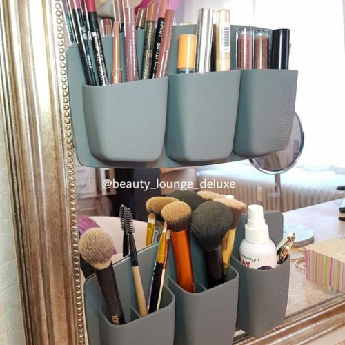Cheap Makeup Holders to Organize Your Beauty Space #cheaporganizer
