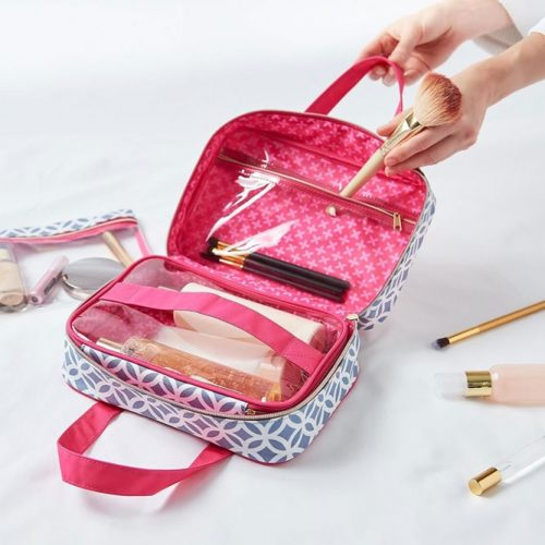 Expertly Organized Beauty Bag #beautybag